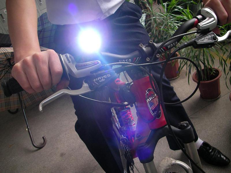 Мощный велофонарь своими руками 26